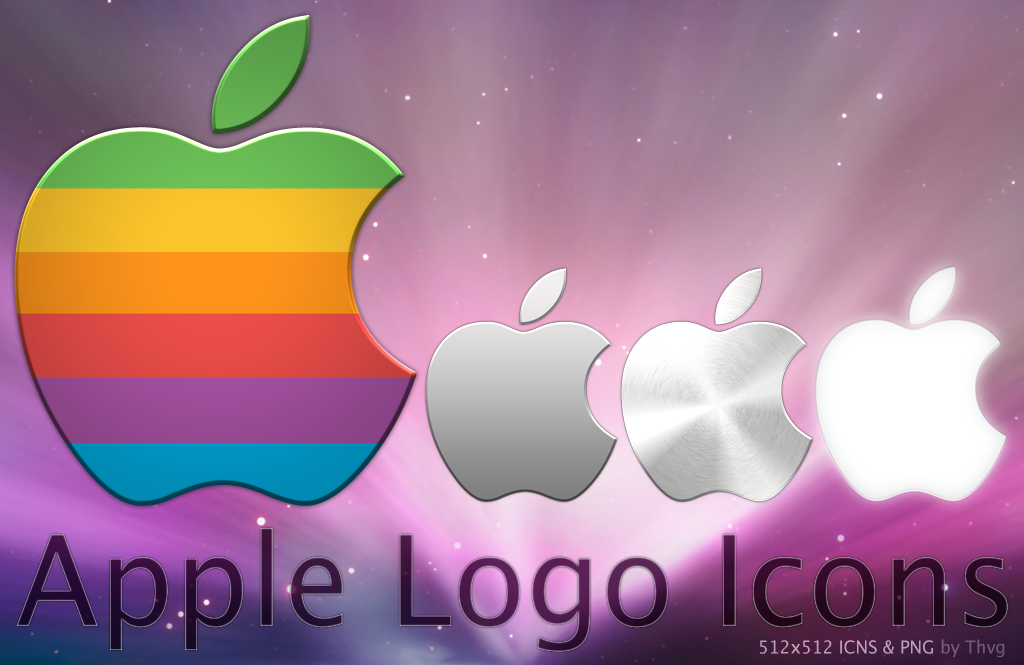 3D Apple Logo Icon pack free download from iconmaterial com